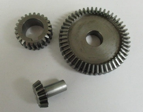 timing gear set spur/bevel combination
