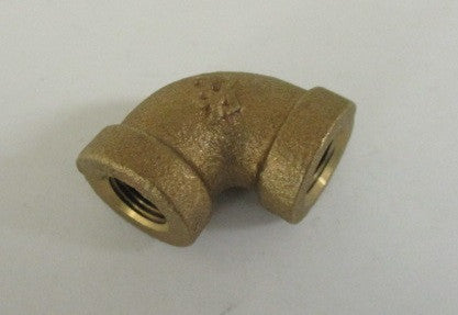 1/8 NPT machined cast elbow