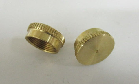 knurled screw cap