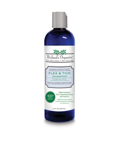 Natural Flea & Tick Shampoo