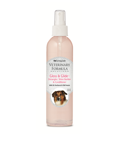 Gloss and Glide Detangler & Conditioner for Dogs & Cats