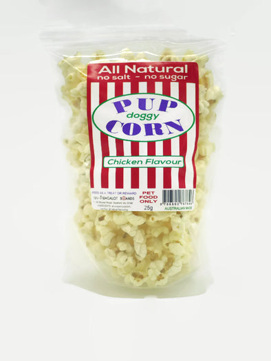 PETES TREATS: <br>PUPCORN <br>Chicken Flavour