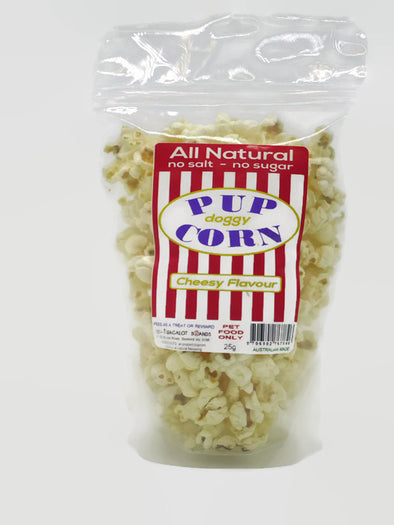 PETES TREATS: <br>PUPCORN <br>Cheesy Flavour