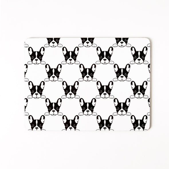 HYGGE: Frenchie Placemats <br>Set of Four