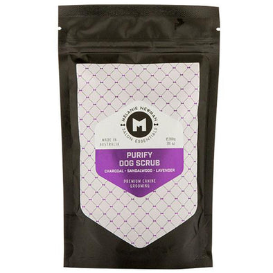 MELANIE NEWMAN <br> Salon Essentials <br> Purify Dog Scrub