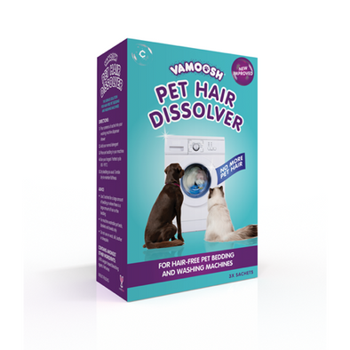 VAMOOSH <br> Pet hair dissolver <br> 3 Sachets