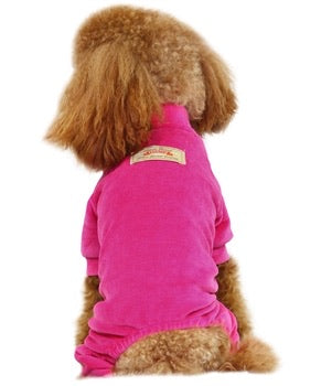 Velour PJ's <br> Hot Pink
