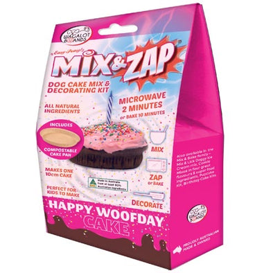 PETES TREATS <br>Mix & Zap HAPPY WOOFDAY CAKE – Pink