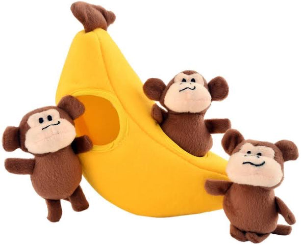 ZIPPY PAWS <br> Burrow Banana
