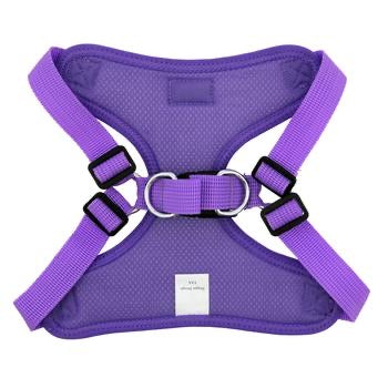WRAP & SNAP <br> ADJUSTABLE HARNESS <br> Paisley Purple