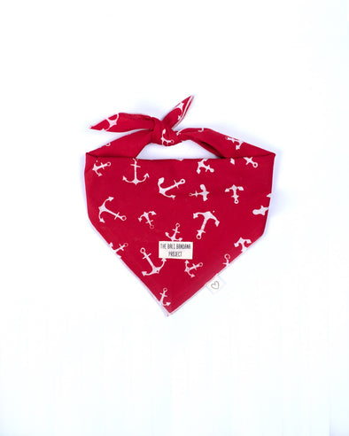 The Ships Ahoy <br> The Bandana Love Project <br>RED