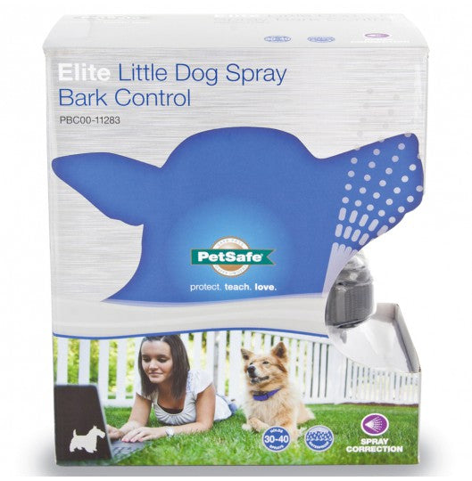 Elite Little Dog Spray Bark Control - Barkley and Pips