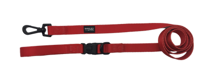 CAFE LEASH: <br> Red (NEW)