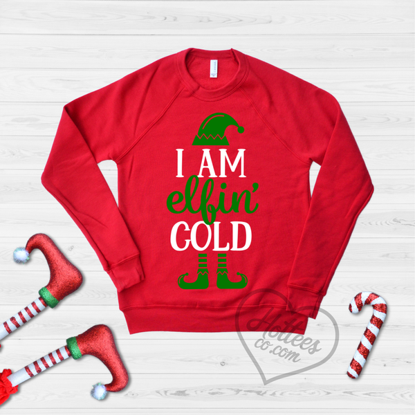 Funny Christmas Sweater.I M Elfin Cold Funny Christmas Sweater
