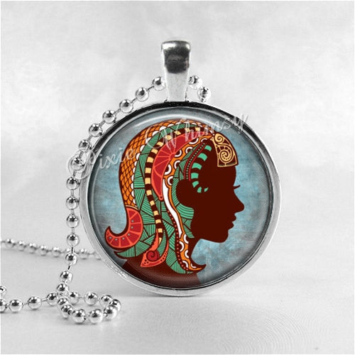 VIRGO Necklace, Virgo Pendant, Virgo Jewelry, Astrology, Zodiac, Constellation, Star Sign, Zodiac Necklace,  Horoscope Necklace, Virgo