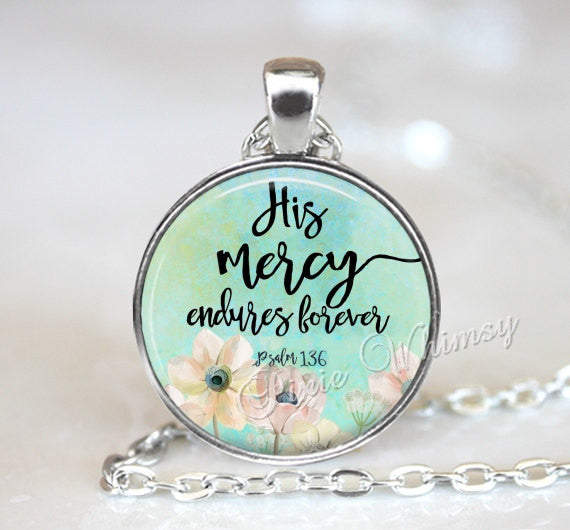 BIBLE SCRIPTURE Necklace, Bible Pendant, Christian Necklace, Bible Keychain, Quote Necklace, Quote Pendant,  Inspirational Quote, Psalm