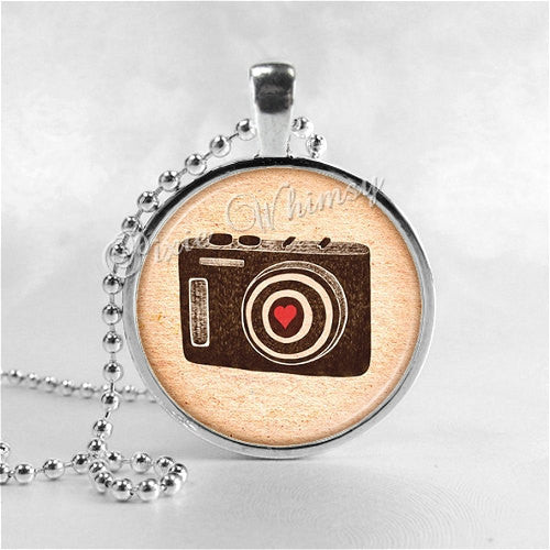 CAMERA Necklace, Camera Pendant, Photographer Jewelry, Photo Pendant Jewelry Charm, Photography Necklace, Camera Jewelry, I Love My Camera