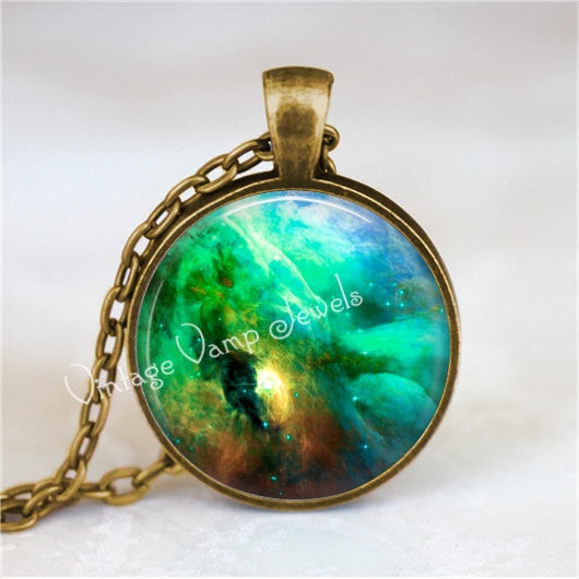 ORION NEBULA Necklace, Nebula Pendant, Outer Space, Galaxy, Planet, Universe, Constellation, Galaxy Necklace, Stars, Galaxy Pendant, Nebula