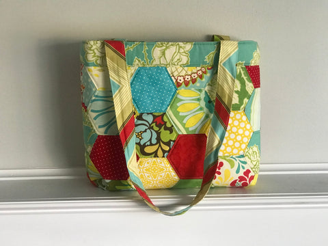 Pieced Hexagon Tote