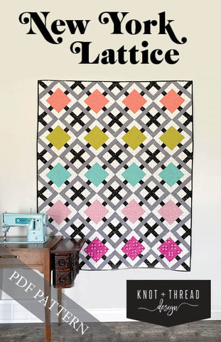 New York Lattice (PDF Pattern)