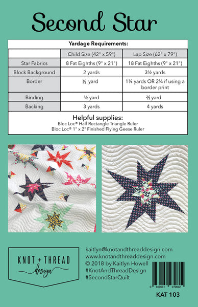 Second Star (PDF Pattern)