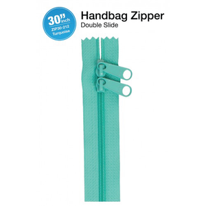 30'' Double Slide Handbag Zipper (TURQUOISE)