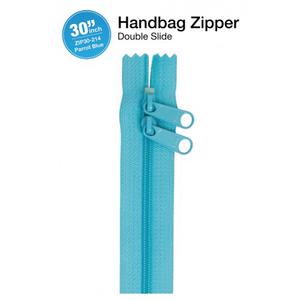 30'' Double Slide Handbag Zipper (PARROT BLUE)