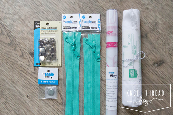 The Truvy Bag Finishing Kit