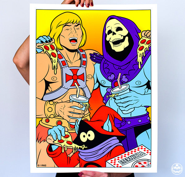 Best Friends He-Man and Skeletor
