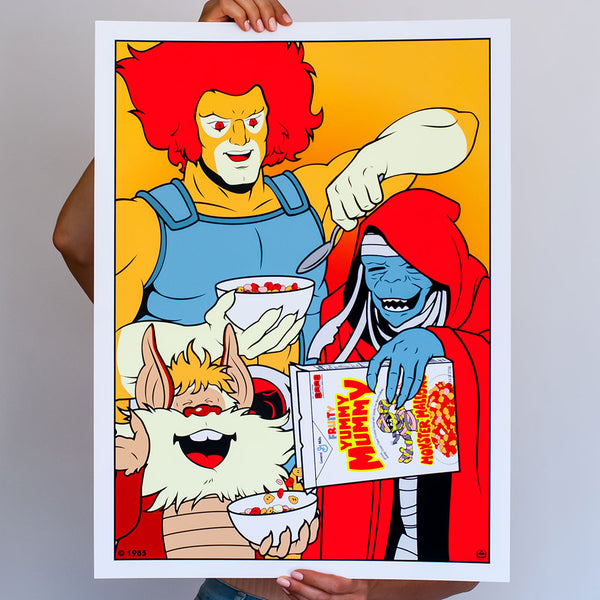 Best Friends Lion-O and Mumm-Ra