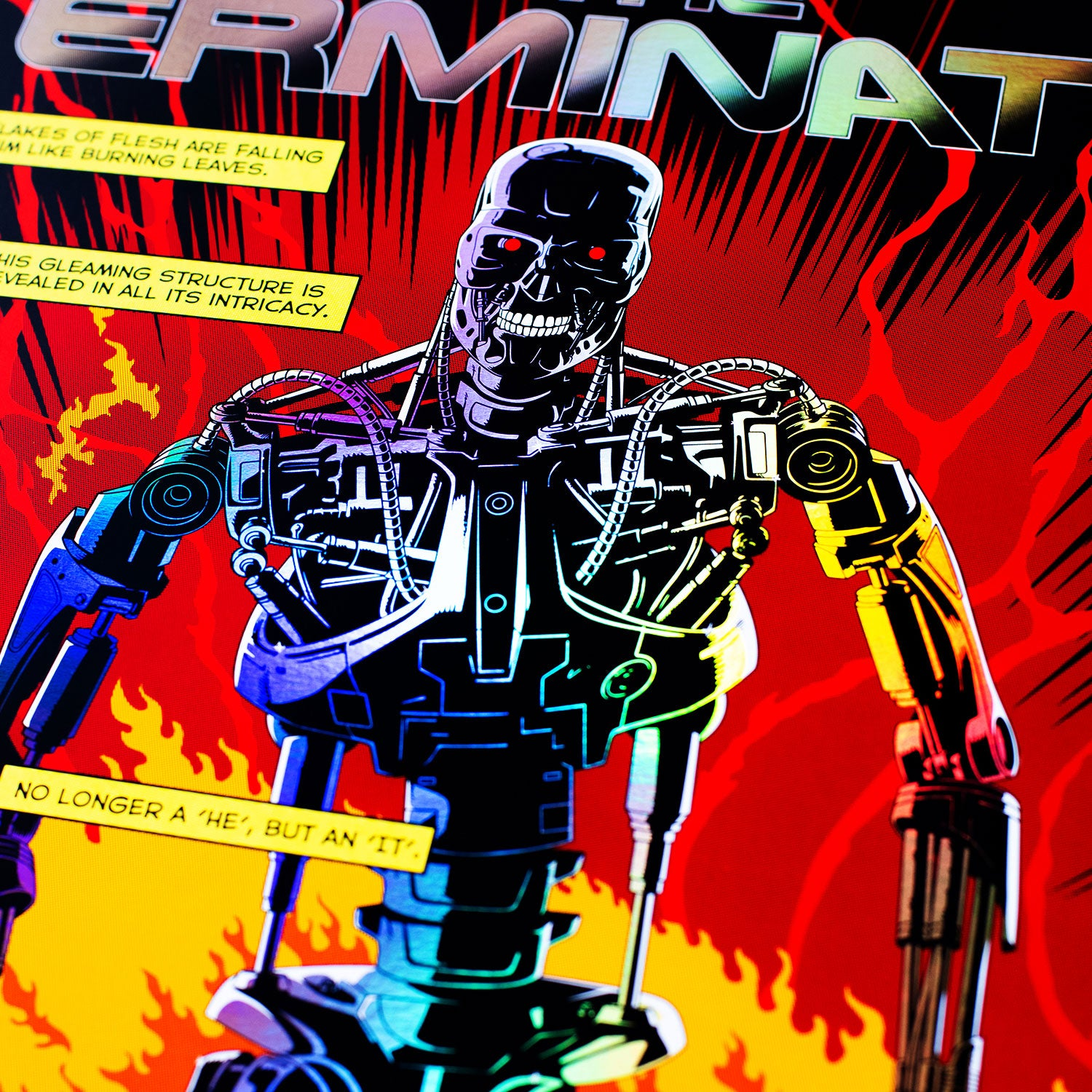 Cinegraphic The Terminator Rainbow Foil