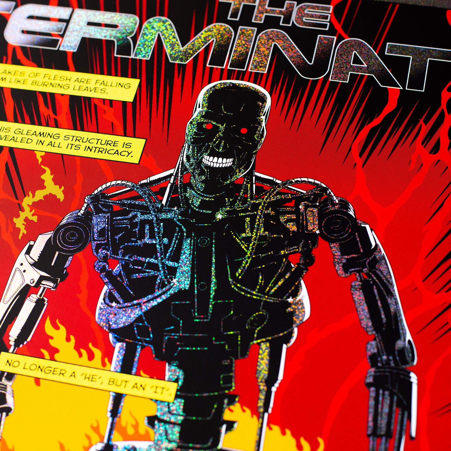 Cinegraphic The Terminator Sparkle Foil Variant