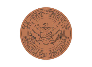 Department of Homeland Security Seal | STL 3D Model  -  Department of Homeland Security Seal | STL 3D Model  -  STL Files