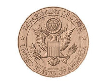 Load image into Gallery viewer, Department of State Seal | STL 3D Model  -  Department of State Seal | STL 3D Model  -  STL Files