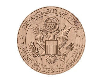 Department of State Seal | STL 3D Model  -  Department of State Seal | STL 3D Model  -  STL Files
