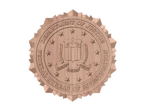 FBI Seal | STL 3D Model  -  FBI Seal | STL 3D Model  -  STL Files