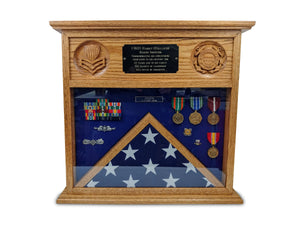 military retirement shadow box jonnychapps.com - Table Top Military Shadow Box - Shadow Box