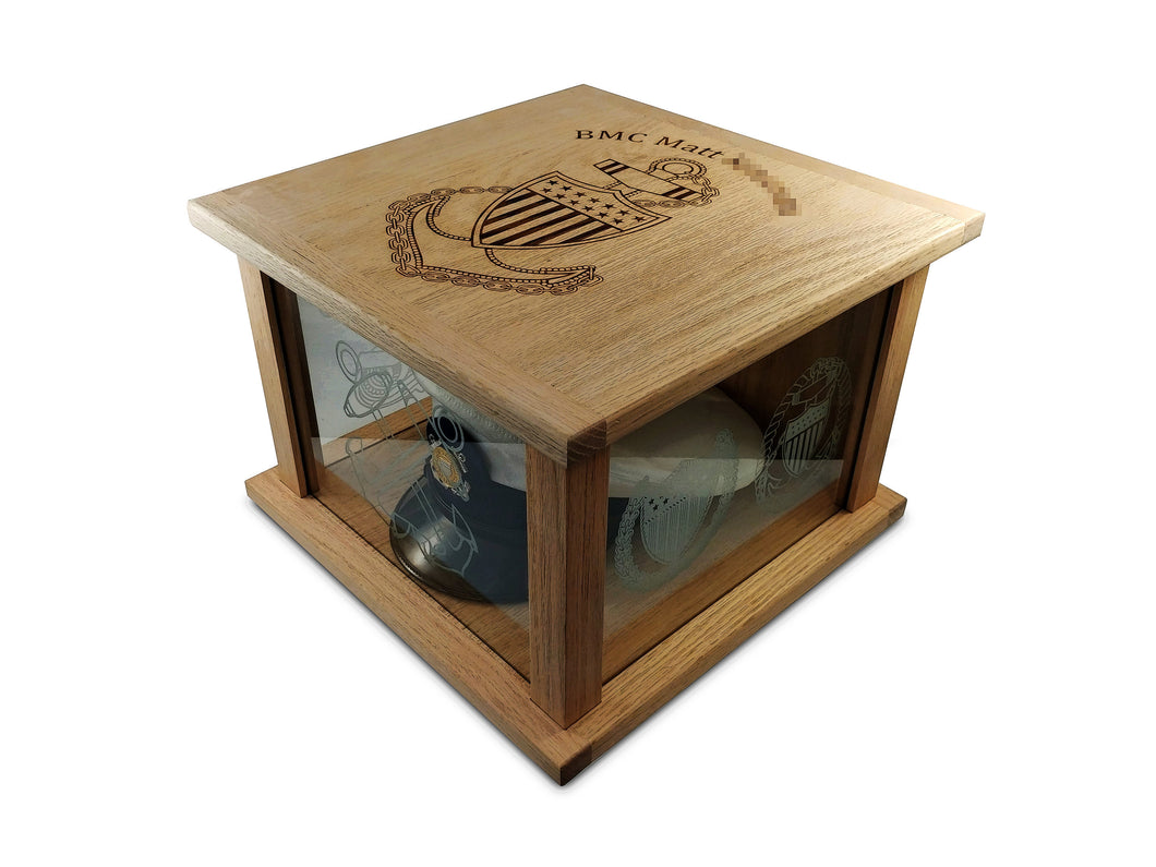 CCTI Hat Box Display Case - Hat Box JonnyChapps Mercantile