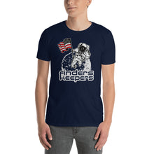 Load image into Gallery viewer, Finders Keepers American Moon Landing Short-Sleeve Unisex T-Shirt