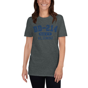Retired US Navy DD 214 Military Unisex T Shirt | JonnyChapps Mercantile