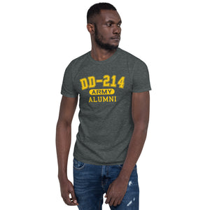 Retired US Army DD 214 Military Unisex T Shirt | JonnyChapps Mercantile