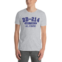 Load image into Gallery viewer, Retired US Air Force DD 214 Military Unisex T Shirt | JonnyChapps Mercantile