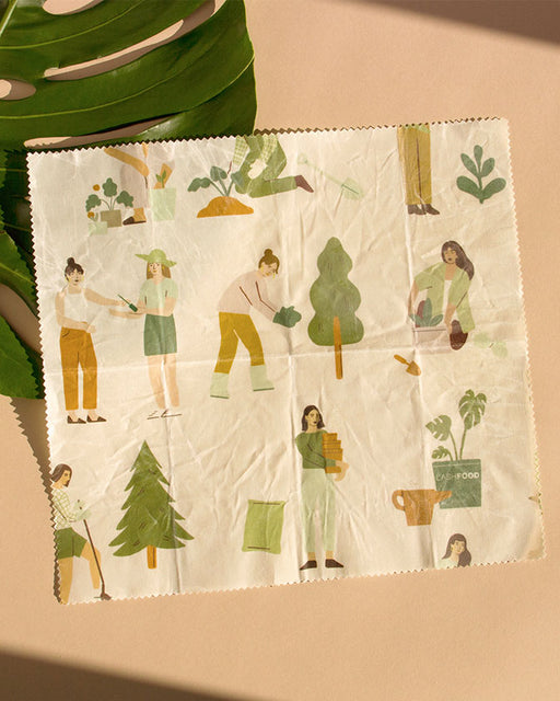 ECO BEESWAX PAPER - REUSABLE FOOD WRAP