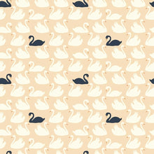 Load image into Gallery viewer, SWAN WITH ME Organic Cotton Swaddling Blanket (65194229761)