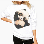 FLASH SALE Baby Panda Cute Sweatshirt - Pandan
