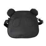 Cute Panda  Leather Handbag B - Pandan