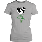 Balance is everything Panda Shirt Women - Pandan