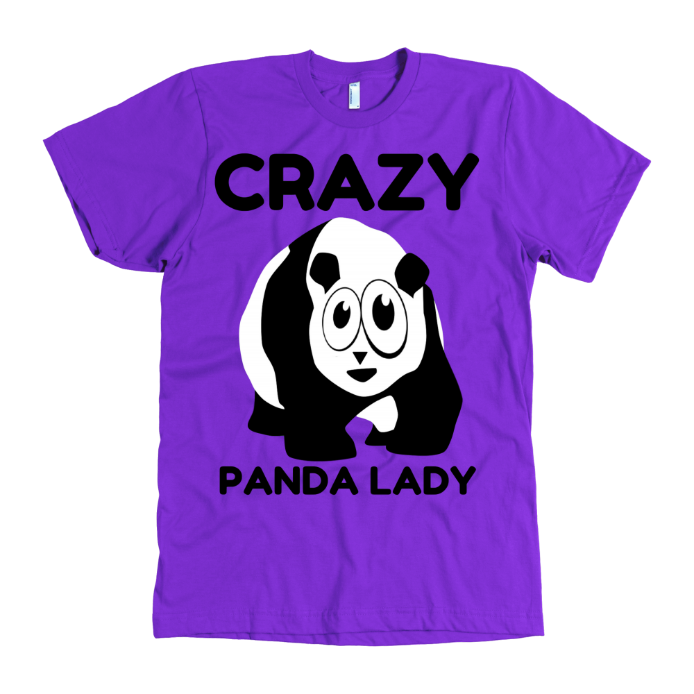 Crazy Panda Lady District Unisex Shirt - Pandan