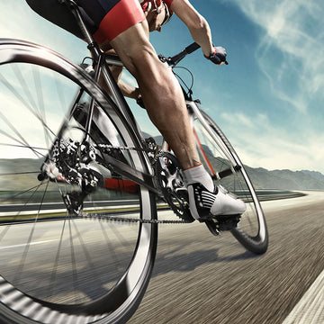Foot orthotics for cycling