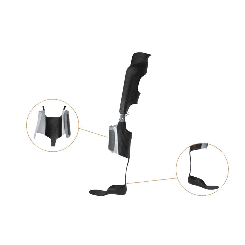 KAFO knee ankle foot orthosis custom carbon available in New Zealand